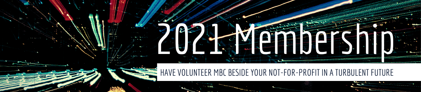 2021 VMBC Membership for Not-for-Profit Organizations
